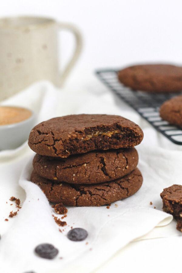cookie cacau amendoim