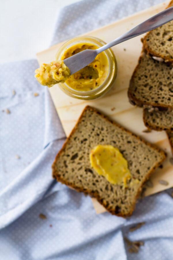 manteiga com castanha